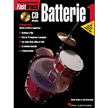Hal Leonard FastTrack Drum Method - Book 1 - French Edition Fast Track Music Instruction BK/CD by Rick Mattingly