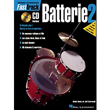 Hal Leonard FastTrack Drum Method - Book 2 - French Edition Fast Track Music Instruction BK/CD by Rick Mattingly