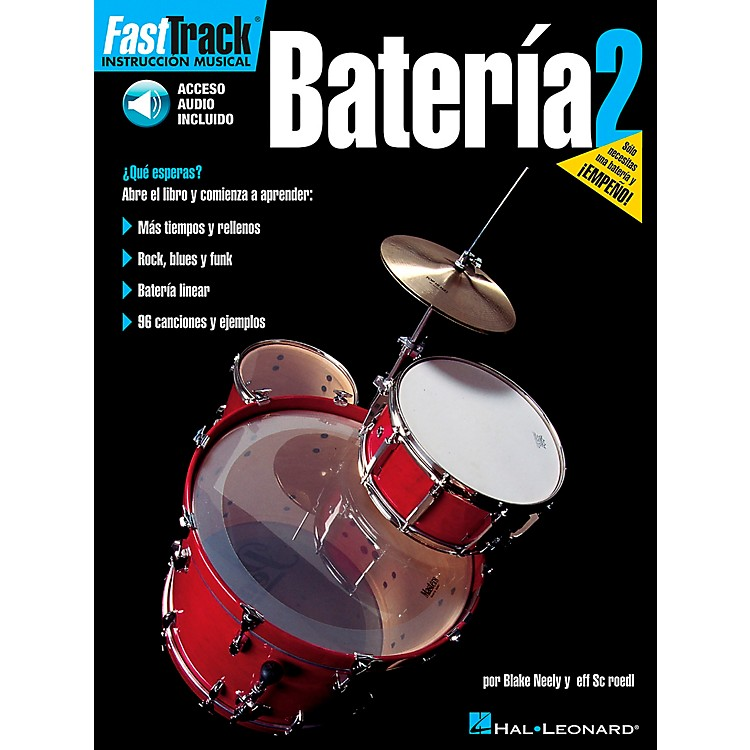 Hal LeonardFastTrack Drum Method Book 1 Book/CD - Spanish Edition
