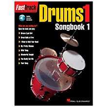 Hal Leonard FastTrack Drums1 Songbook 1 (Book/Online Audio)