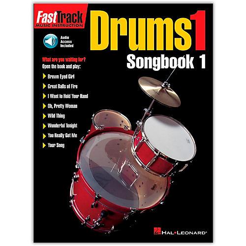 Hal Leonard FastTrack Drums1 Songbook 1 (Book/Online Audio)