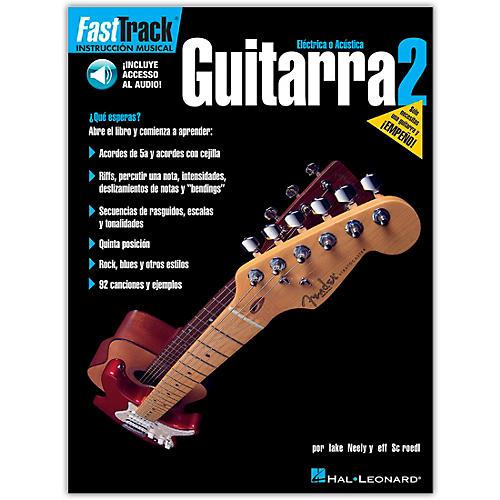 Hal Leonard FastTrack Guitar Method Book 2 Book/CD Spanish Edition
