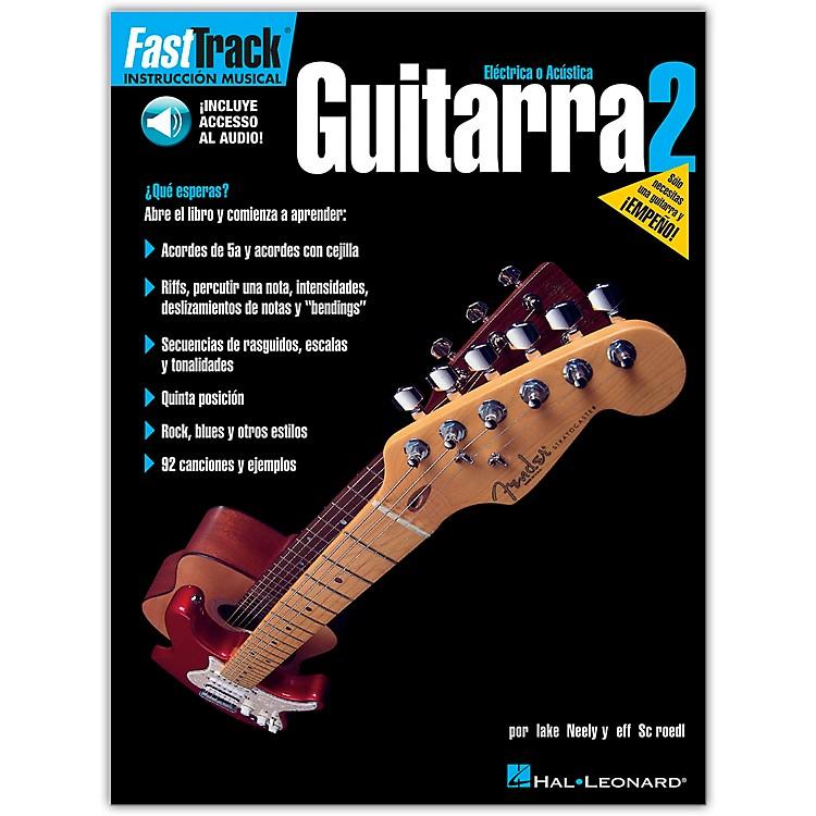 Hal LeonardFastTrack Guitar Method Book 2 Book/CD Spanish Edition