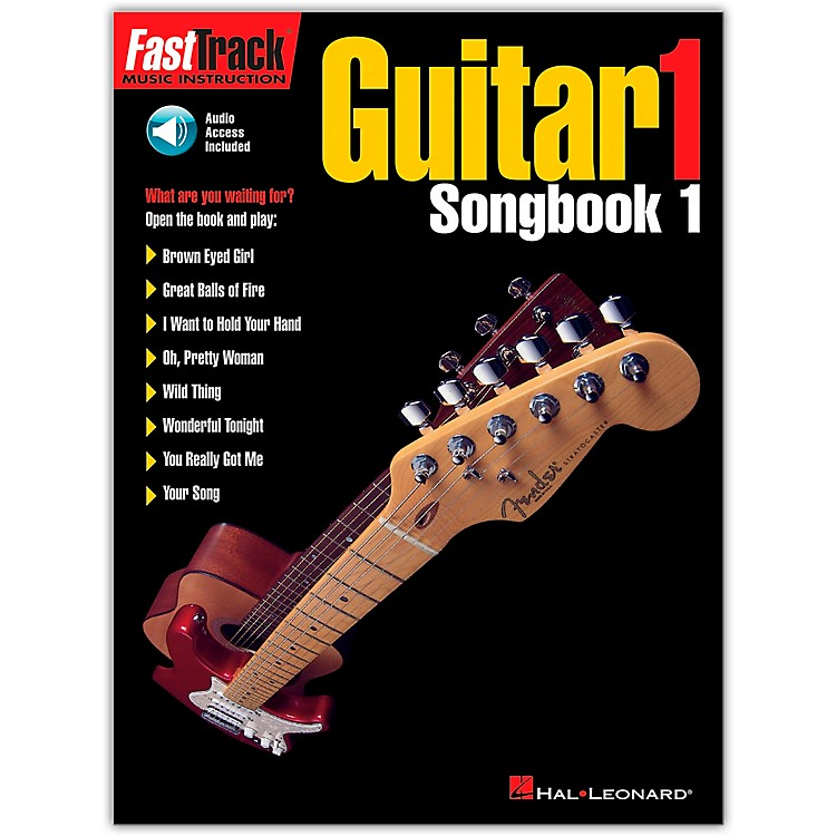 Hal Leonard FastTrack Guitar Songbook 1 Level 1 Book with CD
