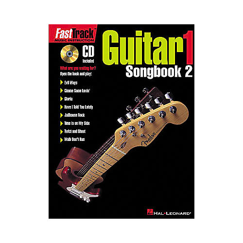 Hal Leonard FastTrack Guitar Songbook 2 - Level 1 Book/CD