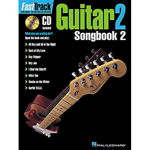 Hal Leonard FastTrack Guitar Songbook 2 Level 2 Book with CD