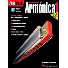 Hal Leonard FastTrack Harmonica Method Book 1 Book/CD - Spanish Edition