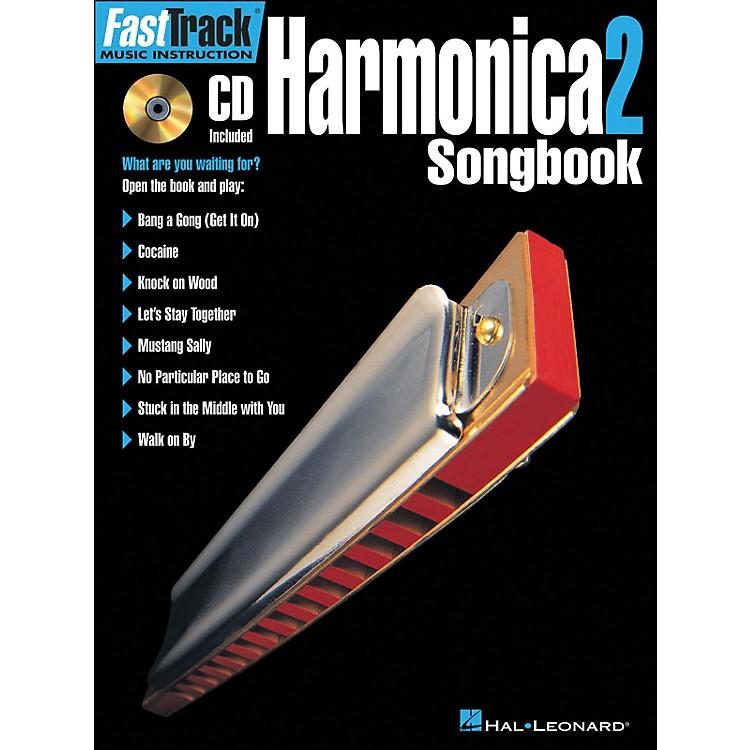 Hal LeonardFastTrack Harmonica Songbook 1 Level 2 Book/CD