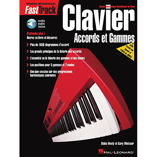 Hal Leonard FastTrack Keyboard Chords & Scales - French Edition Fast Track Music Instruction BK/CD-thumbnail