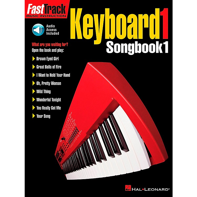 Hal Leonard FastTrack Keyboard Level 1 Supplemental Songbook with CD