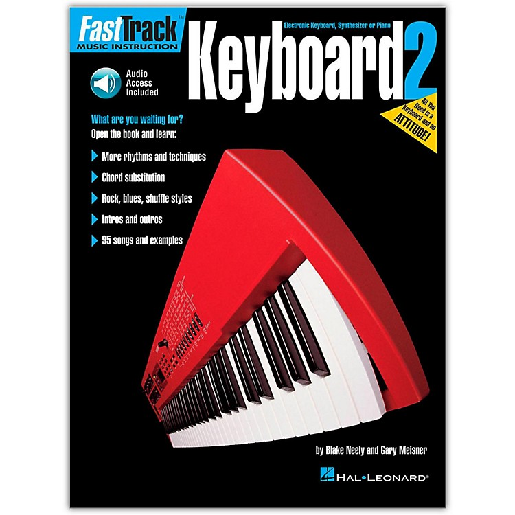 Hal Leonard FastTrack Keyboard Method - Book 2 (Book and CD Package)