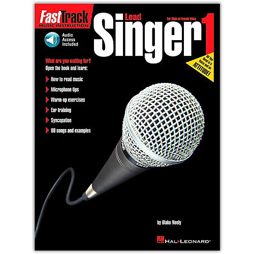 Hal Leonard FastTrack Lead Singer Method - Book 1 (Book/CD)