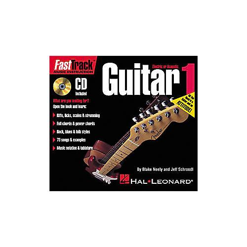Hal Leonard FastTrack Mini Guitar Method 1 (Book/CD)-thumbnail