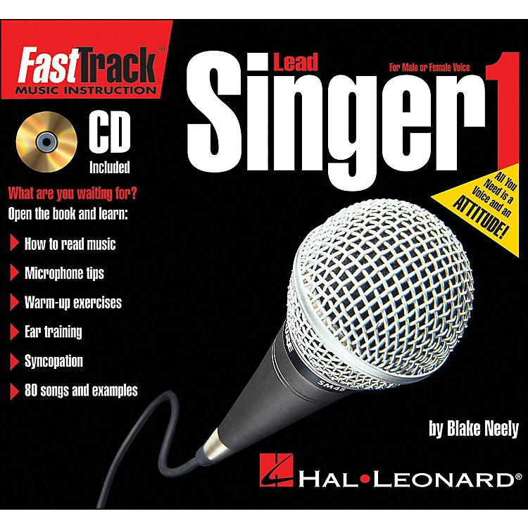 Hal Leonard FastTrack Mini Lead Singer Method Book 1 Book/CD
