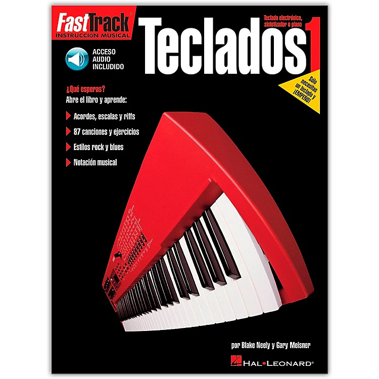 Hal Leonard Fasttrack Keyboard Method Book 1 Book/CD - Spanish Edition