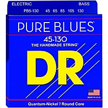 DR Strings Fat-Beams Stainless Steel Medium 5-String Bass Strings (45-130)
