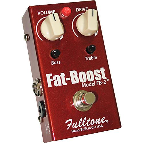 Fulltone Fat-Boost2 Guitar Effects Pedal