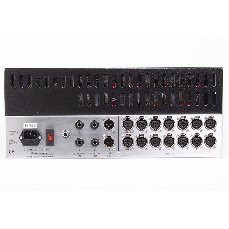 Thermionic Culture Fat Bustard MkII 12-Channel Tube Summing Mixer