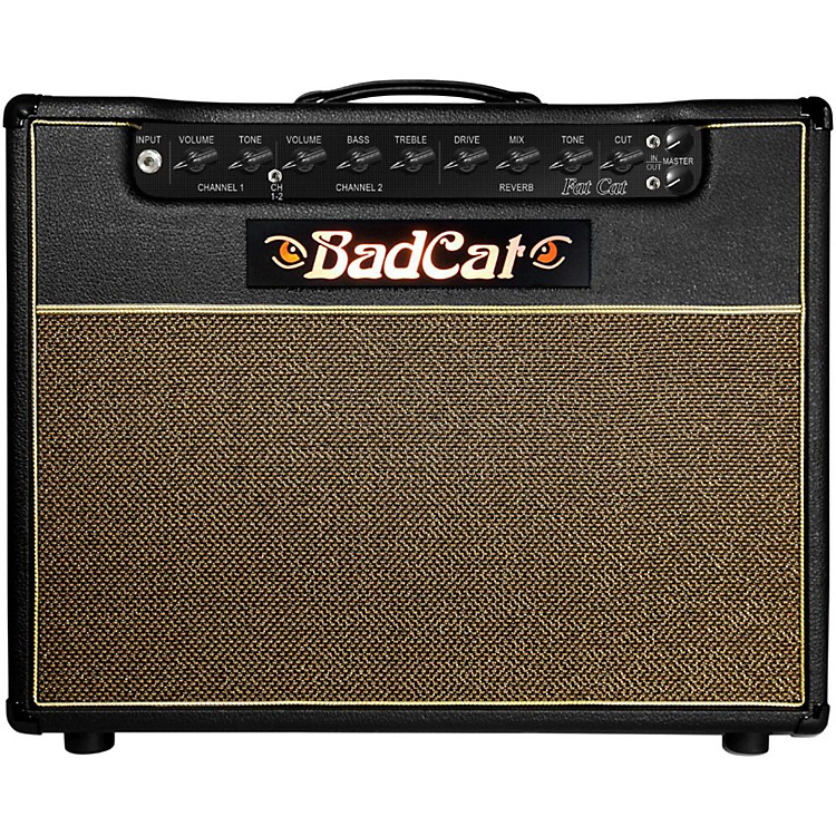 Bad Cat Fat Cat 50 50W Guitar Tube Combo Amp