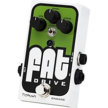 Pigtronix Fat Drive Tube-Sound Overdrive Guitar Effects Pedal Level 2  888365657943