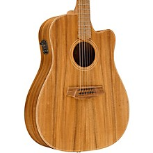 Cole Clark Fat Lady 2 Series Australian Eco Blackwood Dreadnought Acoustic-Electric Guitar Natural