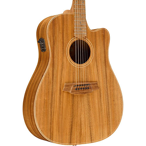 Cole Clark Fat Lady 2 Series Australian Eco Blackwood Dreadnought Acoustic-Electric Guitar-thumbnail