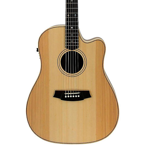 Cole Clark Fat Lady 2 Series Bunya/Blackwood Dreadnought Acoustic-Electric Guitar-thumbnail