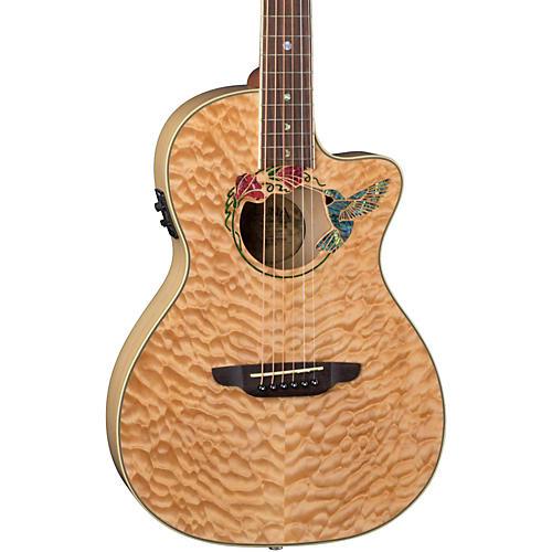 Luna Guitars Fauna Humminbird Acoustic-Electric Guitar-thumbnail