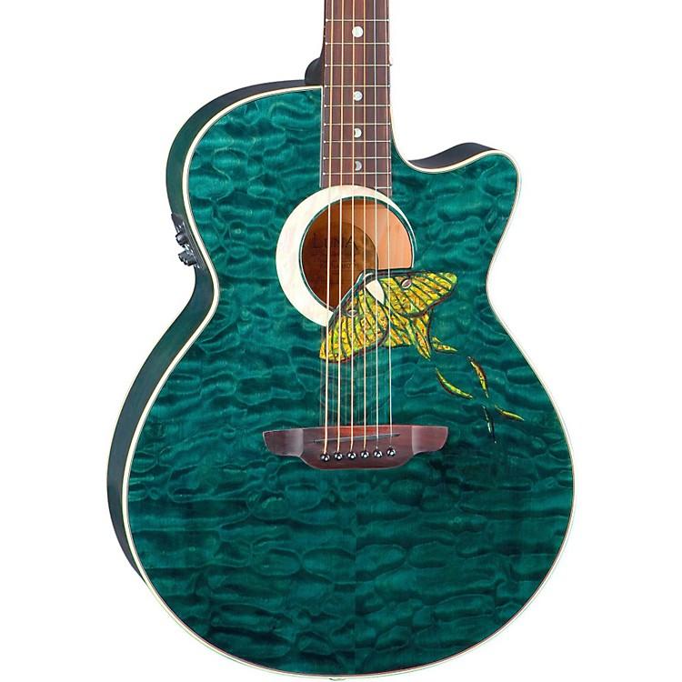 Luna GuitarsFauna Series Folk Acoustic-Electric GuitarNaturalLunamoth