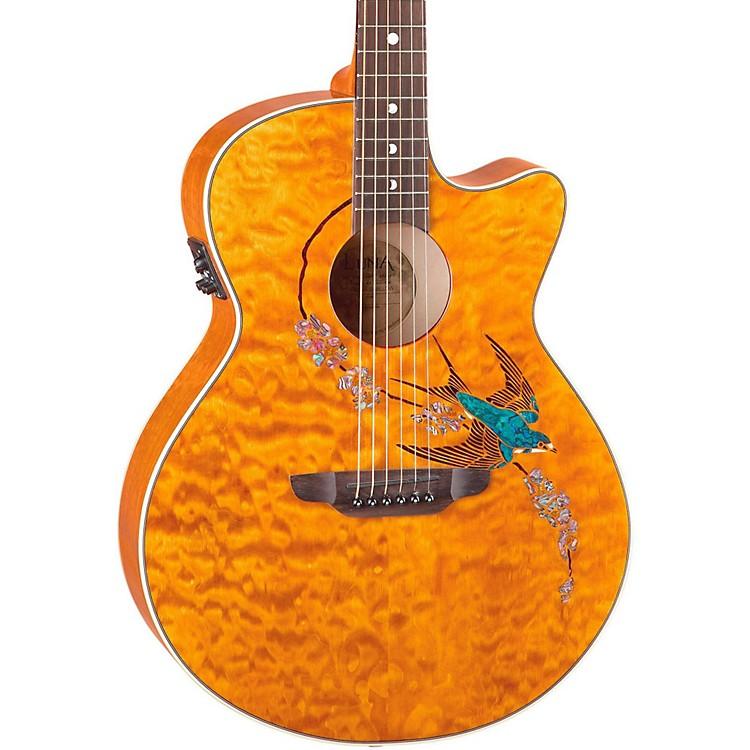 Luna GuitarsFauna Series Folk Acoustic-Electric GuitarNaturalSwift