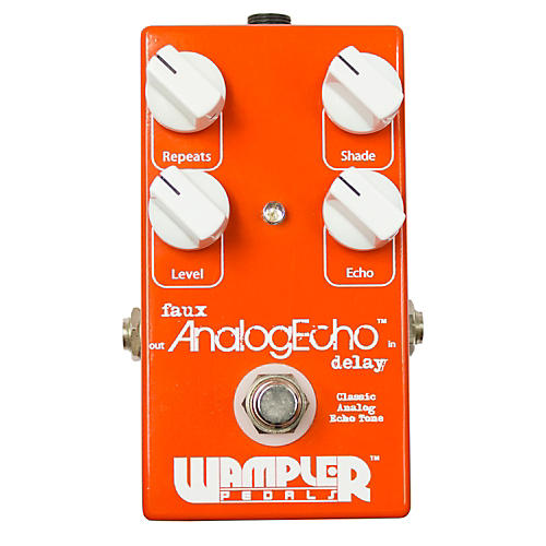 Wampler Faux Analog Echo/Delay Guitar Effects Pedal-thumbnail