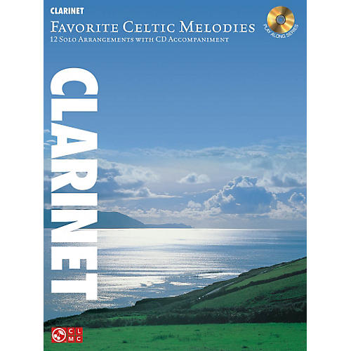 Hal Leonard Favorite Celtic Melodies For Clarinet Book/CD