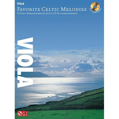 Hal Leonard Favorite Celtic Melodies For Viola Book/CD
