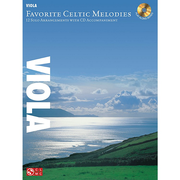 Hal Leonard Favorite Celtic Melodies For Viola Book/CD