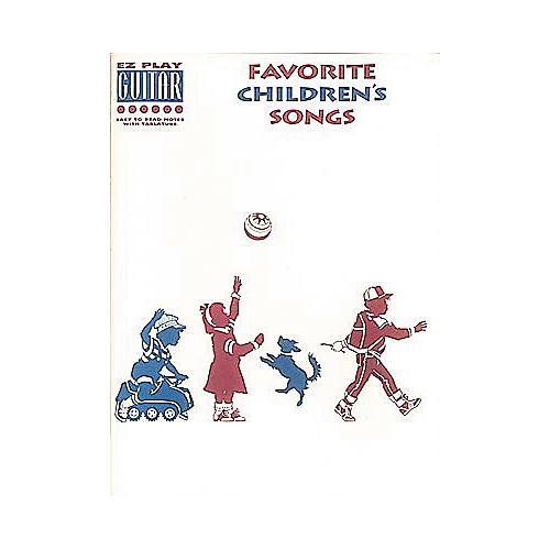 Hal Leonard Favorite Children's Songs Book