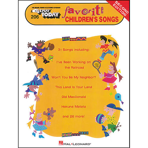Hal Leonard Favorite Children's Songs Second Edition E-Z Play 206