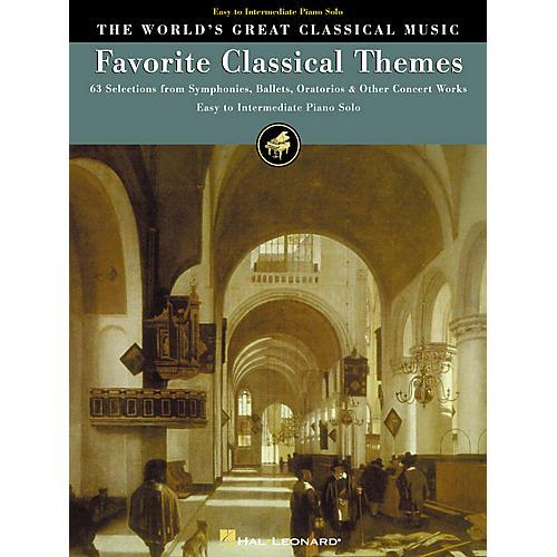 Hal Leonard Favorite Classical Themes World's Greatest Classical Music Series (Intermediate)-thumbnail