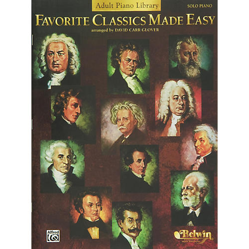 Alfred Favorite Classics Made Easy (Adult Piano Library) Book