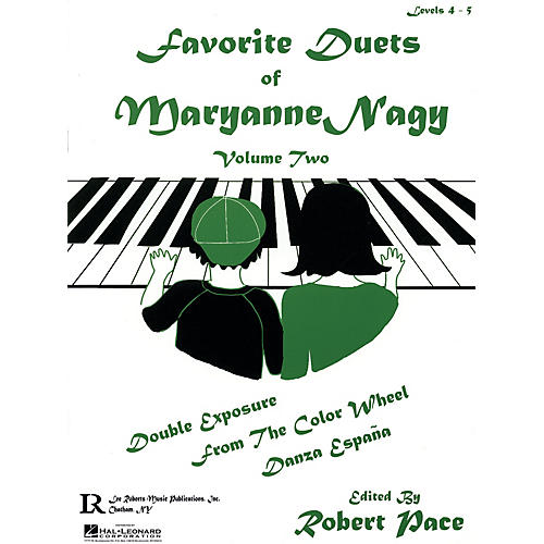 Lee Roberts Favorite Duets of Maryanne Nagy, Volume 2 Pace Piano Education Series Composed by Maryanne Nagy-thumbnail