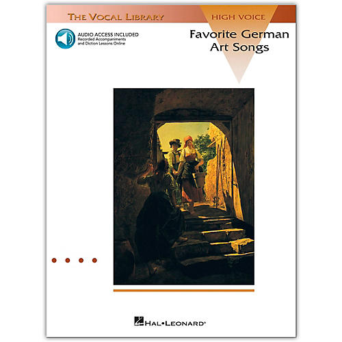 Hal Leonard Favorite German Art Songs High Voice (Book/Online Audio)