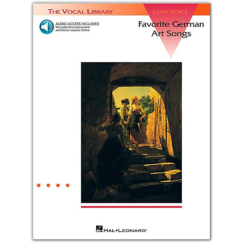 Hal Leonard Favorite German Art Songs for Low Voice Book/CD