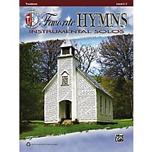 Alfred Favorite Hymns Instrumental Solos Trombone Book & CD
