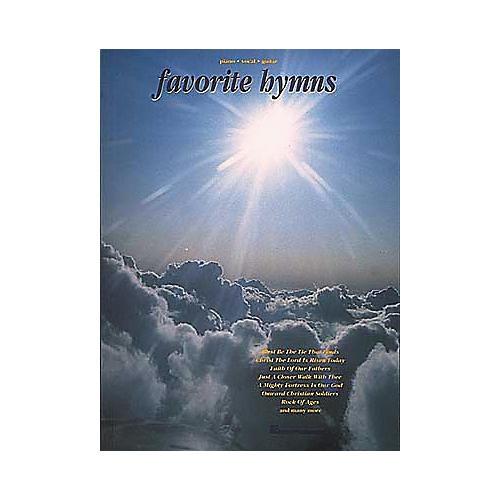 Hal Leonard Favorite Hymns Piano/Vocal/Guitar Songbook-thumbnail