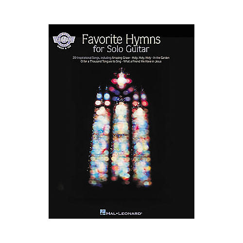 Hal Leonard Favorite Hymns for Solo Guitar Book
