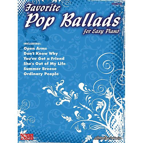 Cherry Lane Favorite Pop Ballads For Easy Piano