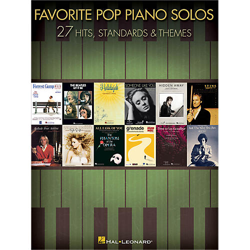 Hal Leonard Favorite Pop Piano Solos songbook