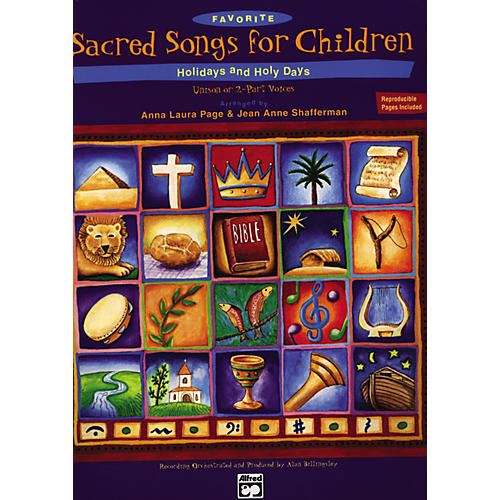 Alfred Favorite Sacred Songs for Children: Holidays & Holy Days. Split Track Accompaniment/Performance CD