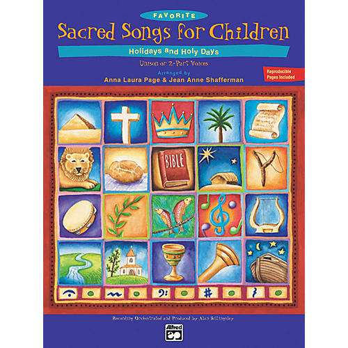 Alfred Favorite Sacred Songs for Children, Holidays and Holy Days Book 1