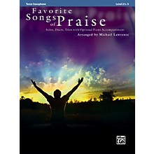 Alfred Favorite Songs of Praise (Tenor Sax Version)