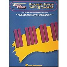 Hal Leonard Favorite Songs with 3 Chords E-Z Play 1